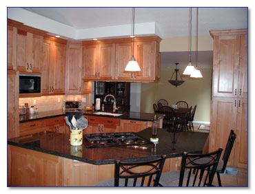 Markim construction project template - Partition kitchen dining ...